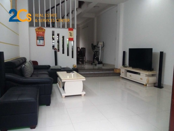 Bán gấp nhà mới xây hẻm Huỳnh Tấn Phát 80 1