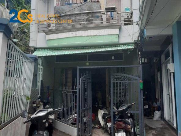 Bán nhà 1 trệt 1 lầu 97.54m2 đường Trần Xuân Soạn 1
