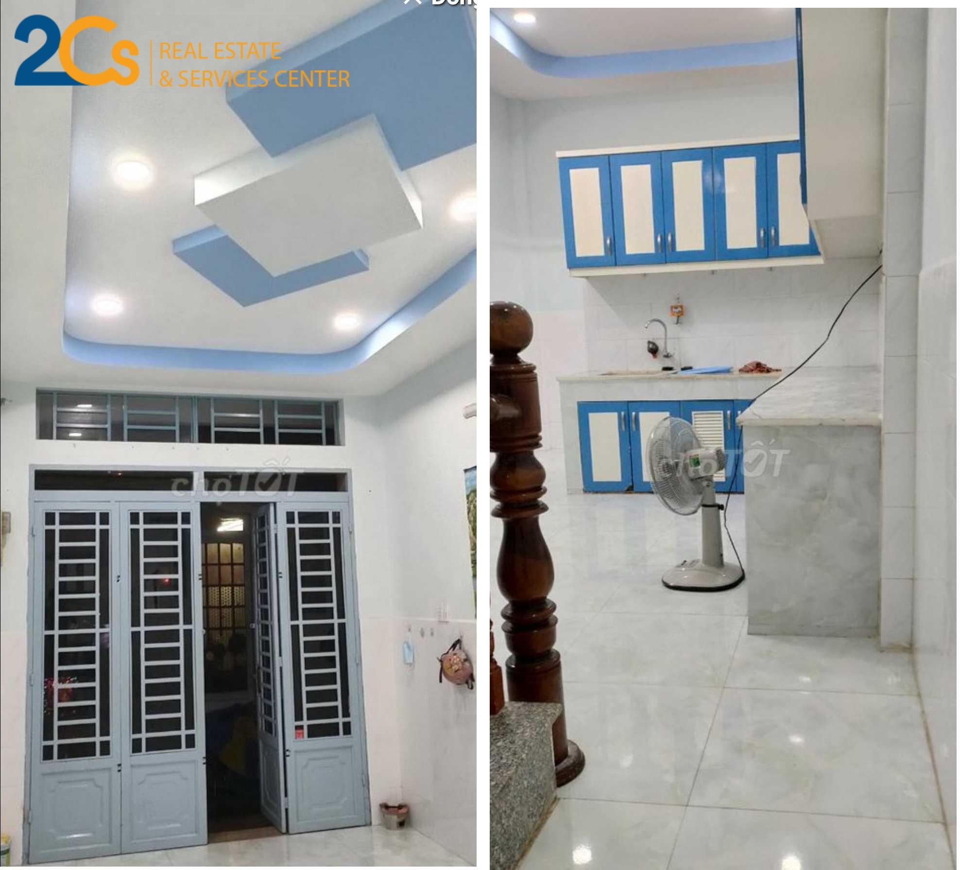 Bán nhà Hẻm Nguyễn Thị Tần 38m2 tiện xây mới 1