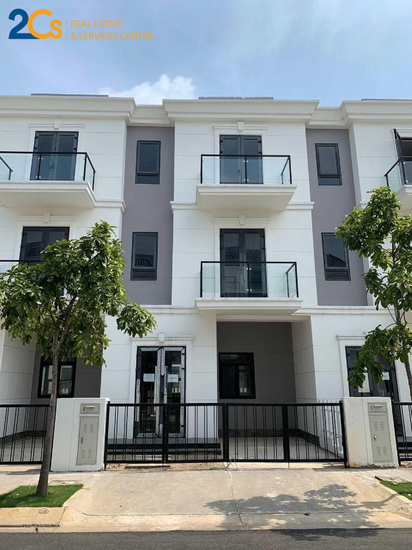 Cho thuê căn nhà phố liền kề C20 thuộc dự án khu đô thị thông minh Simcity quận 09 1