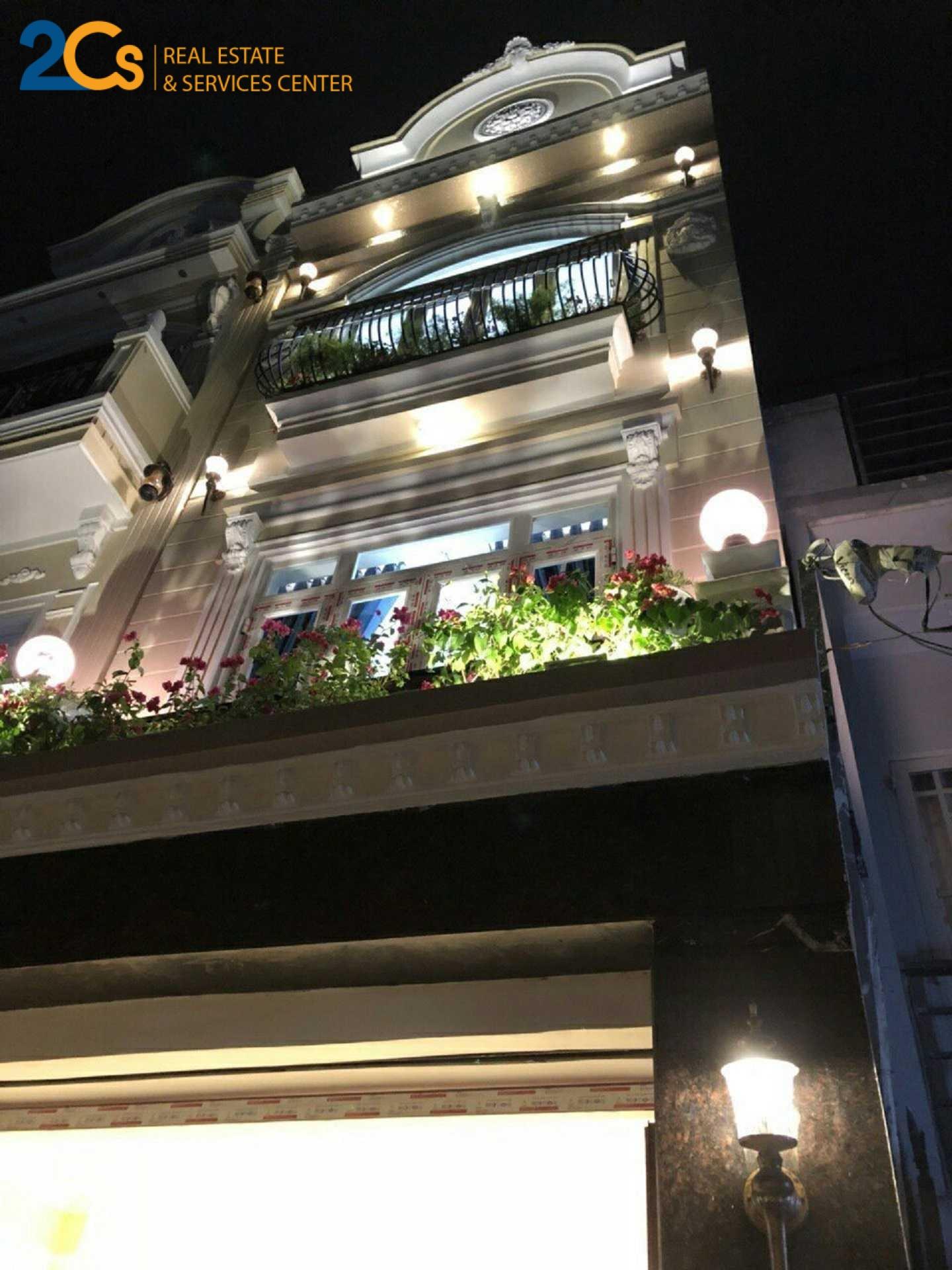Bán nhà hẻm xe hơi hẻm thẳng kiểu biệt thự cổ 49.5m2 đường Phạm Hữu Lầu 3