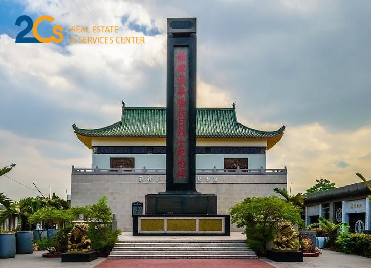Khu Nghĩa trang nhà giàu Manila Chinese (Philippines). Nguồn: cafeland.vn