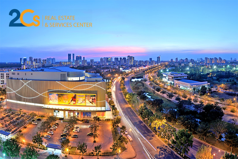 Sức nóng của khu Nam Sài Gòn tăng mạnh