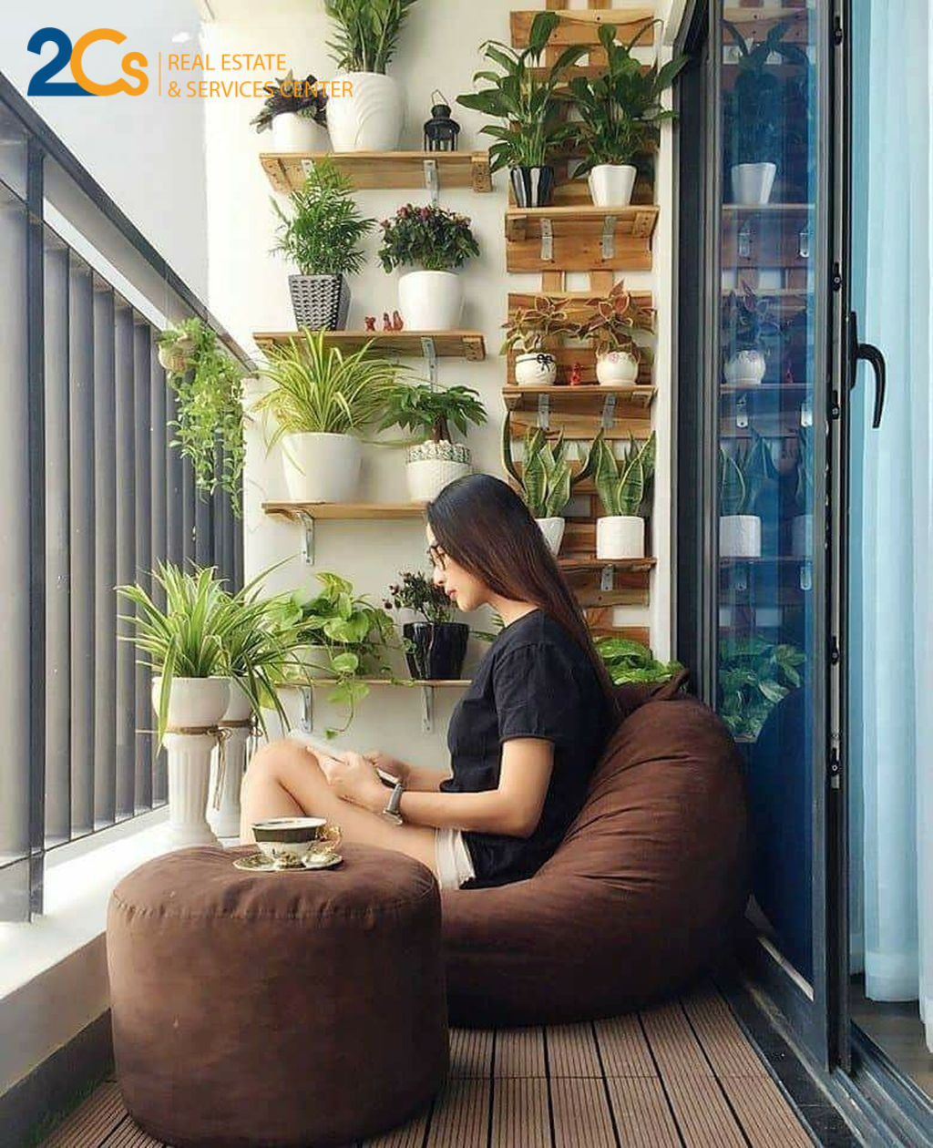 Small Balcony Ideas For a Relaxing Place Get Rid of Saturation 20