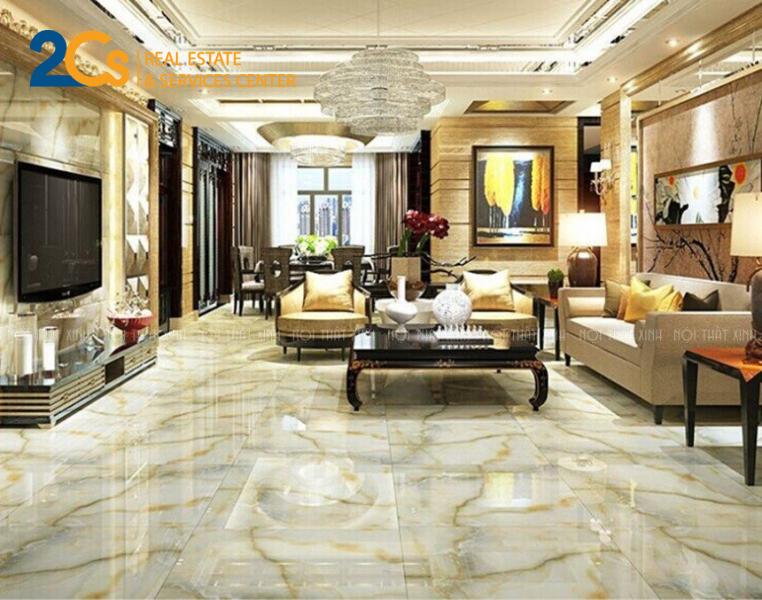 Gạch granite mang lại sự sang trọng và đăng cấp cho không gian sống