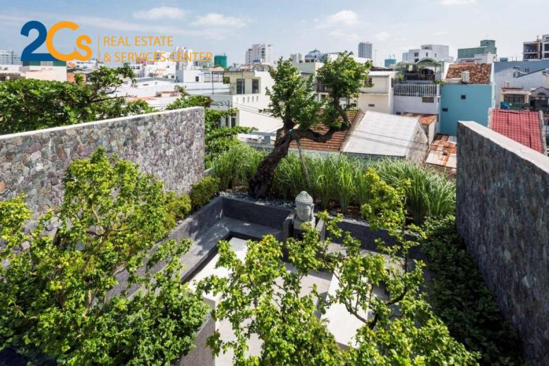 Vườn trên mái giúp điều hòa nhiệt độ, giảm tiếng ồn và lọc không khí