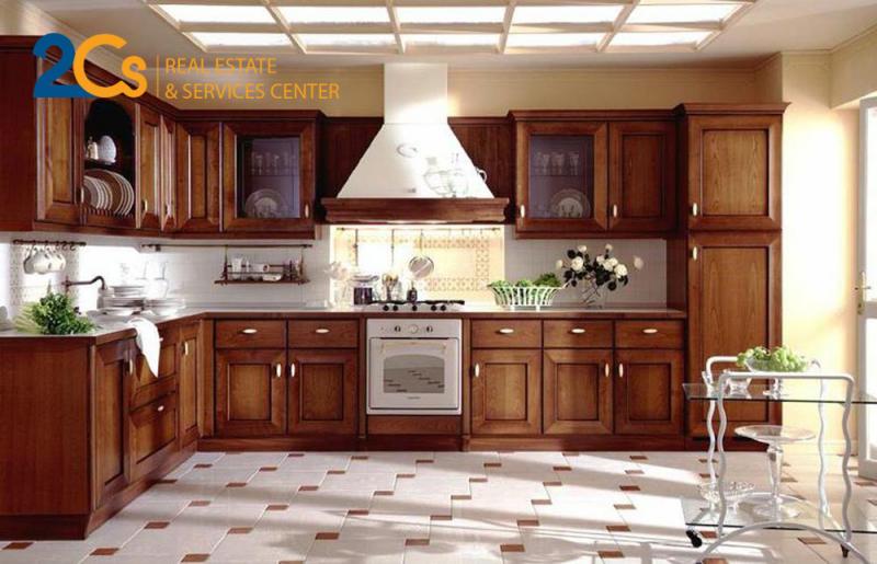 Phòng bếp chọn gạch hạn chế trơn trượt