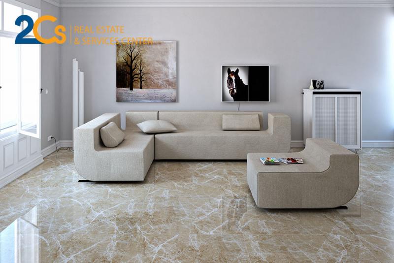 Mệnh Kim phù hợp với gạch màu trắng hoặc ánh kim