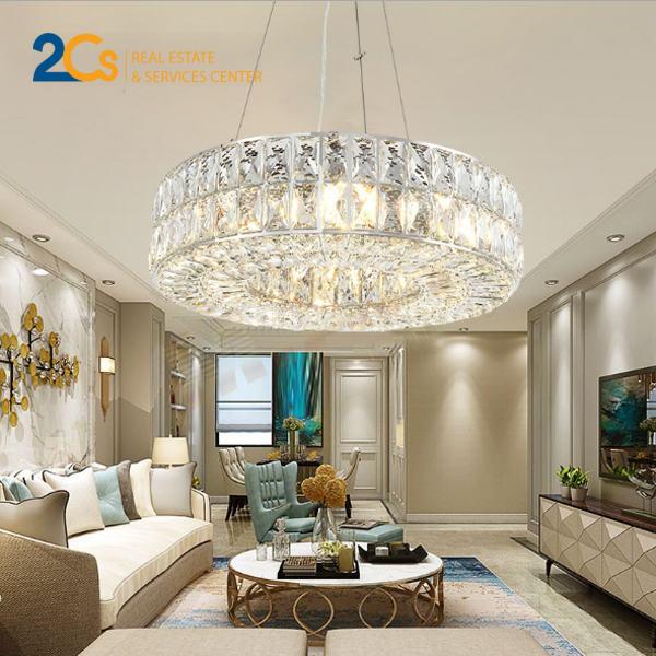 Ánh sáng trắng phù hợp với phòng khách theo phong cách hiện đại