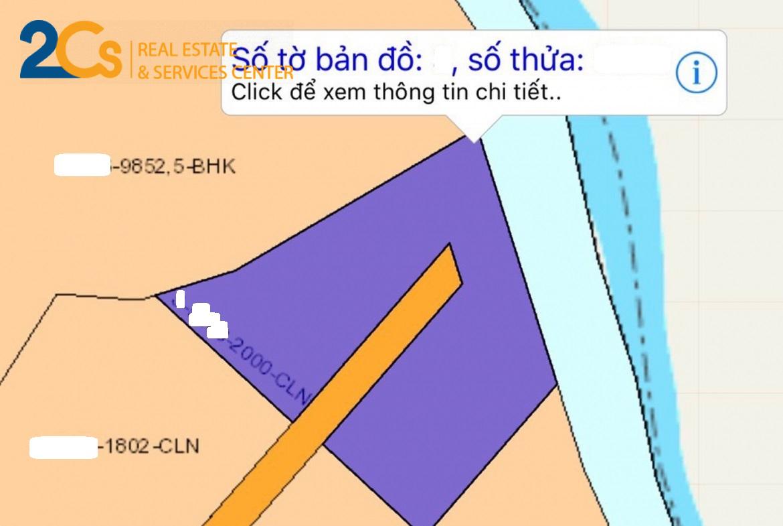 Bán 2.000m2 đất CLN sát sông rạch KCN tại Đồng Nai