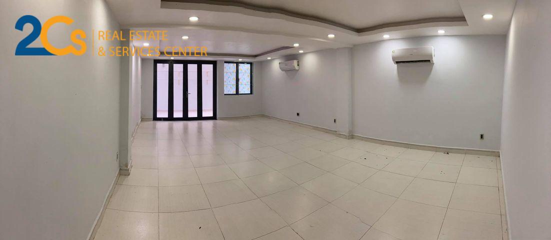 Cho thuê 2 tầng làm văn văn phòng Đc: đường số 12, Tân Thuận Đông, Quận 7 1. Tầng trệt Diện tích: 45m2 Giá cho thuê: 6.500.000đ/ tháng 2. Tầng lửng Diện tích: 70m2 Giá cho thuê: 11.500.000đ/ tháng.