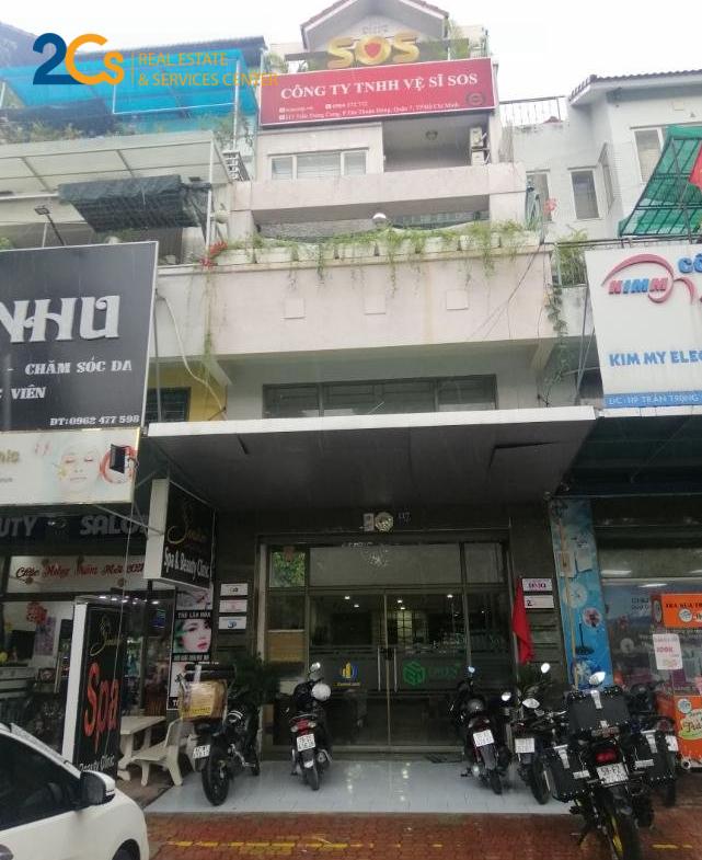 Cho thuê nhà nguyên căn Quận 7 Địa chỉ: 117 Trần Trọng Cung, P. Tân Thuận Đông, Q.7