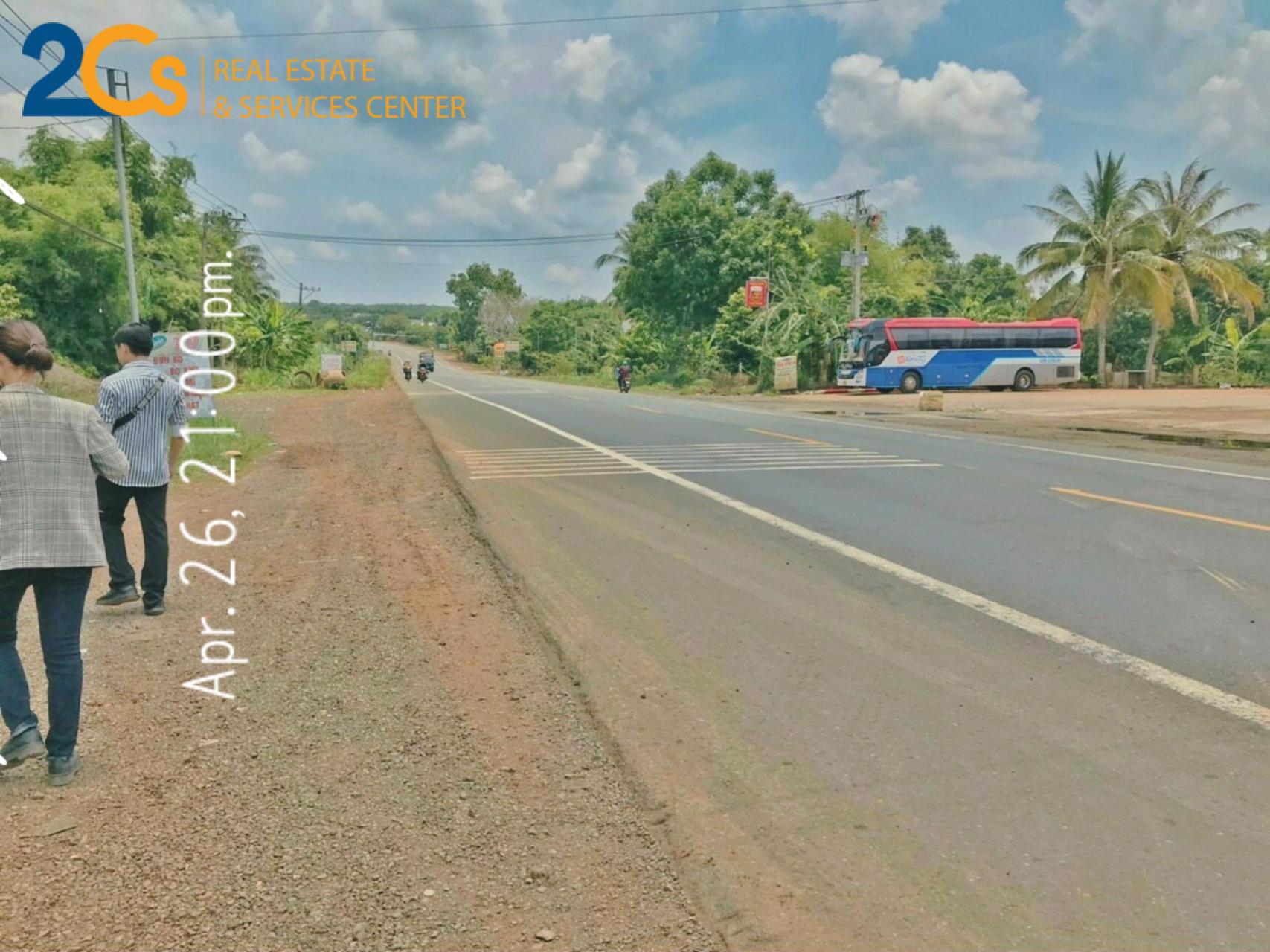 Cần bán lô đất có thổ cư 100m2, nằm trước mặt tiền lộ nhưa 10m, cách QL14 100m Địa chỉ: xã Phú Trung, huyện Phú Riềng, tỉnh Bình Phước